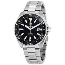 WAY201A.BA0927 Tag Heuer Aquaracer Mens Watch Calibre 5 43mm Steel 300m black