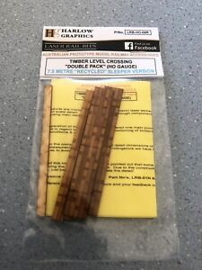 Timber Level Crossing Double Pack (HO) Pack LRB-HO-06R
