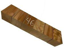 """6 Pack, Spanish Cedar Turning Woods/Bottle Stopper Blanks 2""""x2""""x3"""", #46"""