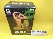 The Naked. Usopp. Figura Banpresto 2017 One Piece Body Calendar vol.4. NUEVA