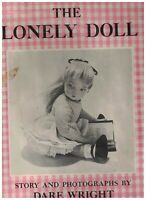 The Lonely Doll HC DJ Dare Wright Photographs 1957 Doubleday & Co