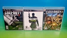 Call of Duty: Modern Warfare 3, COD 3, Black Ops II, - Playstation 3 PS3 3 Game