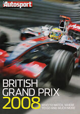 Autosport British GP Guide 08 - Robert Kubica,Alex Wur,GP2 drivers chances of F1