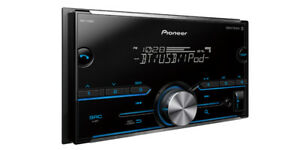 Pioneer MVH-S400BT RB Double DIN MP3/WMA Digital Media Player Bluetooth MIXTRAX