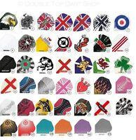 Harrows Dimplex Dart Flights 5 Sets (15 Flights) - Choose from 41 Designs