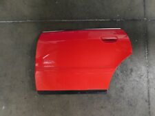 Audi B5 S4 OEM Left Rear Driver Side Door Shell Laser Red LY3H 8D0833051F