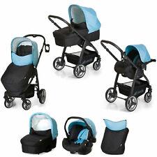 Hauck shopper Babies Travel pushchair Carrycot Carseat Lacrosse + raincover UK