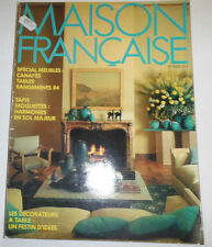 Maison Francaise French Magazine Special Meubles February 1984 101714R1