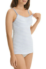 6195ea9c139a1 Bonds Bumps Hidden Support Feeding Singlet with cups 12C white blue Rrp $45