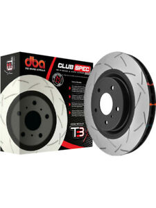 2 x DBA T3 Slotted Rotor FOR AUDI A6 4G5 (DBA42832S)