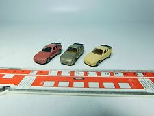 AF155-0,5# 3x Herpa H0 CAR/ Sports car models Porsche 944 very good