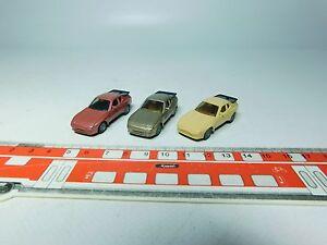 AF155-0, 5 #3x Herpa H0 Car/Sportwagen-Modelle Porsche 944 Very Good