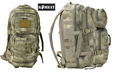 Army Military Tactical Combat Rucksack Backpack Molle Day Pack Bag 28L Smudge