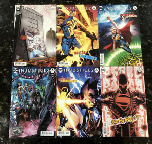 Injustice 2 1-6 2017 By Tom Taylor - 1 2 3 4 5 6 - Complete 1st Arc In Vol 1