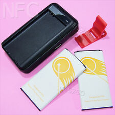 4in1 5400mAh NFC Battery Dock Charger Bracket For Samsung Galaxy S5 G900P Sprint