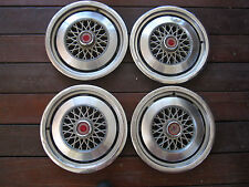 "1975 76 77 78 79 80 Ford Granada Mercury Monarch 14"" HUBCAP HUB CAP, SET OF 4"