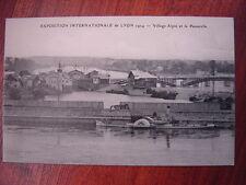 LYON : Expo. Internationale 1914.  Village Alpin et la Passerelle.