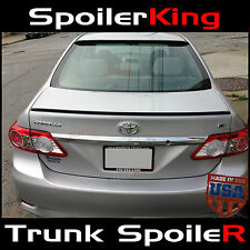 (244L) Toyota Corolla 2011-13 Rear Trunk Add-on Lip Spoiler Wing USA URETHANE