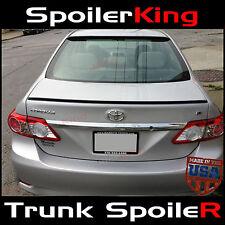(244L) Toyota Corolla 2011-13 Rear Trunk Add-on Lip Spoiler Wing USA URETHANE