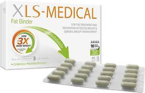 XLS Medical Fat Binder - 60 Tablets, 10 Day Pack