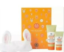 """The Body Shop """"Bunny & The Carrot"""" Healthy-Looking Skin 3 Item Gift Set, BNIB"""