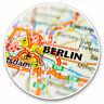 2 x Vinyl Stickers 7.5cm - Berlin Germany Map German Europe Cool Gift #16298