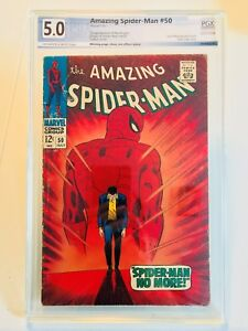 Amazing Spider-Man #50, VG/FN, PGX 5.0, not CGC or CBCS, 1st Appearance Kingpin