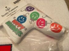 BNIB Scotty Cameron 2011 Happy Holidays Smiley Faces Putter Headcover Cover