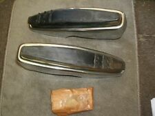 NOS 1969 1970 FORD GALAXIE XL FRONT BUMPER GUARDS GUARD KIT