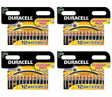 BATTERIE Duracell AAA 48 Pack Heavy Duty Zinco 1.5 V per macchina fotografica Toys
