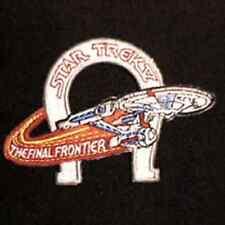 "Star Trek IV Enterprise Horseshoe  4"" Patch-Lincoln Ent-FREE S&H (STPAL-030)"