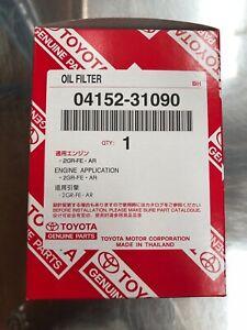 5 x Genuine Toyota Oil Filter 04152-31090 for Camry Aurion Kluger RAV4 Tarago