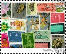 Suriname : 100 Different Stamps Collection