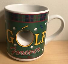 Golf Forever Work Never Coffee Cup Mug Collectible Novelty Gift Papel