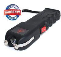 490 Million Volt Heavy Duty Self Defense Stun Gun w/ LED Light + Taser Case