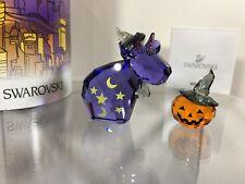 Swarovski Crystal Mint Lovlots Magic Mo & Pumpkn 9100 000 388 / 1139968 MIB NEW