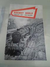 Railway World February 1959 ~ Vintage Railwayana + Illustrated With Photos
