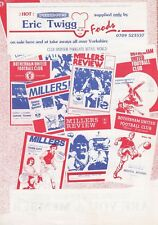 Rotherham United Reserves v West Bromwich Albion Reserves 1991/2 (16 Apr)