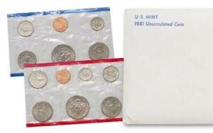 """1981 U.S. Mint Set """"BU"""" *Free S/H After 1st Item*"""