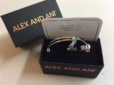 Alex and Ani Joy Sand Dollar Color Infusion Bangle Bracelet Shiny Rose NWTBC
