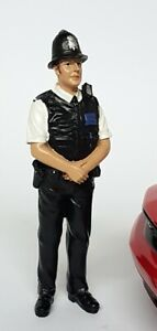 American Diorama 1/18 Scale British Policeman Polyresin figure model display