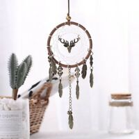 Handmade Dream Catcher With Feather Home Wall Or Car Hanging Decoration Ornament