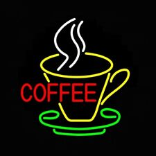 "New Coffee Shop Neon Sign Bar Pub Decor Gift Light 20""x16"""