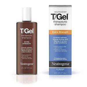 Neutrogena T/Gel Strength Extra Therapeutic Shampoo with 1% Coal Tar, 6 fl. oz