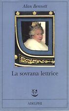 La sovrana lettrice- ALAN BENNETT, 2008- Adelphi ed -ST823