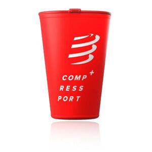 Compressport Unisex Fast Cup - Rojo Deporte Correr Exterior Ligero