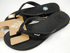 REEF WOMENS SANDALS ROVER CATCH BLACK SIZE 6