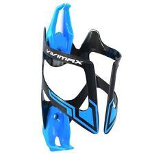 Vivimax Carbon Fiber Bike Water Bottle Cage , Blue x Black