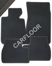 Für VW Lupo Bj. 10.01 - 02.02 Fußmatten Velours Deluxe mit Doppelnaht rot-blau