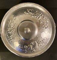 """Vintage Nasco Italy Aluminum  Covered Dish w/Lid - Hammered Style 9.5"""" x 4.75"""""""